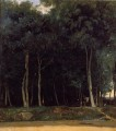 Fontainebleau the Bas Breau Road Jean Baptiste Camille Corot Wald