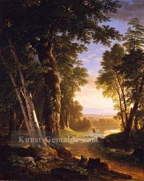 The Beeches Landschaft Asher Brown Durand Wald Ölgemälde