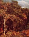 Wooded Landschaft romantische John Constable Wald