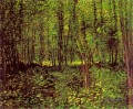 Trees and Undergrowth Vincent van Gogh Wald