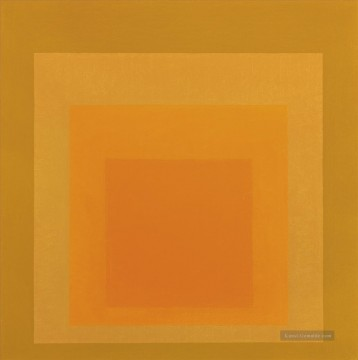 Moderne Werke - HOMAGE TO THE SQUARE AUTUMN CLIMAX Moderne