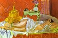 Odalisque Harmony in Red 1926 Abstrakte Nackt