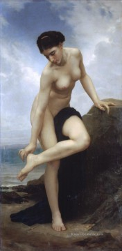 Apres le bain 1875 William Adolphe Bouguereau Nacktheit Ölgemälde