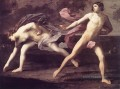 Atalanta and Hippomenes Guido Reni Nacktheit