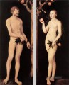 Adam und Eve 1531 Religiosen Lucas the Elder Nacktheit Cranach