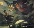 Justice and Divine Vengeance Pursuing Crime Romantische nackt Pierre Paul Prud hon
