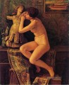 The Venezianische Model Nacktheit Elihu Vedder