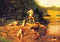 The Swimming Hole Realismus Thomas Eakins Nacktheit