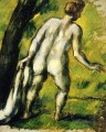 Bather from the Back Paul Cezanne Nacktheit Impressionismus