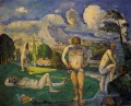 Bathers at Rest 1877 Paul Cezanne Nacktheit Impressionismus