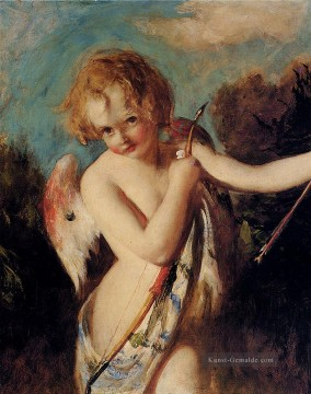 Nacktheit und Balletttänzerin Gemälde - Cupid William Etty