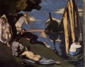 Pastoral or Idyll Paul Cezanne Nacktheit Impressionismus