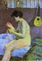 Study of a Nude Suzanne Sewing Post Impressionismus Primitivismus Paul Gauguin