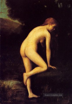Nacktheit und Balletttänzerin Gemälde - The Bather Nacktheit Jean Jacques Henner