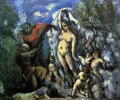 The Temptation of St Anthony Paul Cezanne Nacktheit Impressionismus
