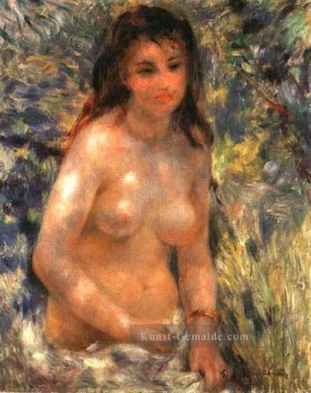 Nacktheit und Balletttänzerin Gemälde - nude in the sunlight Pierre Auguste Renoir