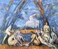 Large Bathers 2 Paul Cezanne Nacktheit Impressionismus
