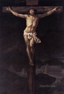 Christentum und Jesus Werke - Christ on the Cross Neoklassizismus Jacques Louis David