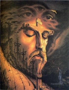 Christentum und Jesus Werke - Octavio Ocampo Jesus Christ on the cross