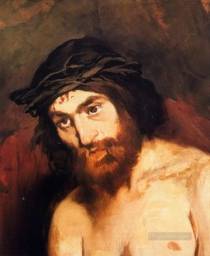 Christentum und Jesus Werke - The head of Christ Eduard Manet