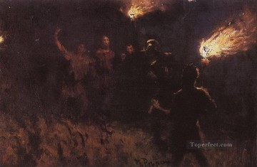 Christentum und Jesus Werke - taking christ into custody 1886 Ilya Repin