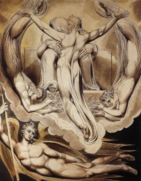 Christentum und Jesus Werke - Christ As The Redeemer Of Man Romantik romantische Age William Blake