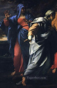 Christentum und Jesus Werke - Holy Women at the Tomb of Christ detail religious Annibale Carracci