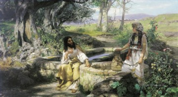Christentum und Jesus Werke - christ and the samaritan woman