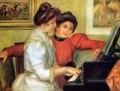 yvonne and christine lerolle playing the piano Pierre Auguste Renoir