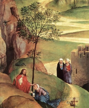 Christentum und Jesus Werke - Advent and Triumph of Christ 1480detail2 religious Hans Memling