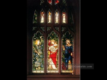 Christentum und Jesus Werke - Christ Church Oxford Faith Hope and Charity Präraffaeliten religiösen Sir Edward Burne Jones
