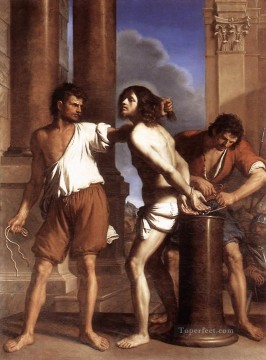 Christentum und Jesus Werke - The Flagellation of Christ Guercino