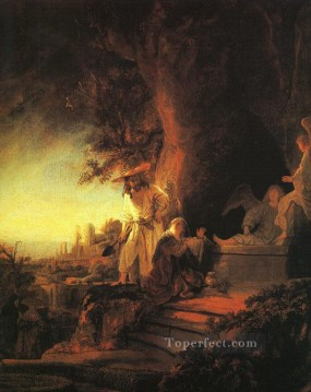Christentum und Jesus Werke - The Risen Christ Appearing to Mary Magdalen Rembrandt
