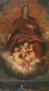 Christentum und Jesus Werke - The Spirit of Christianity symbolist George Frederic Watts