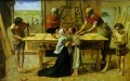 Christ carpenter Präraffaeliten John Everett Millais