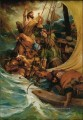 Peace Be Still Catholic Christian Jesus on water sea storm
