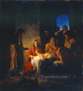Christentum und Jesus Werke - The Birth of Christ religion Carl Heinrich Bloch