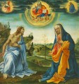 The Intervention of Christ and Mary Christentum Filippino Lippi