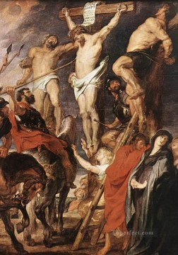 Christentum und Jesus Werke - Christ on the Cross between the Two Thieves Peter Paul Rubens