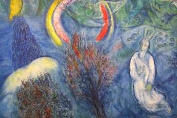 Jüdischen Werke - Moses and the Burning Bush MC Jewish