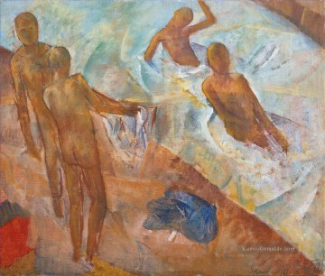 Russisch Werke - BATHING BOYS Kuzma Petrov Vodkin