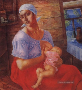 Russisch Werke - Mutter 1915 Kuzma Petrov Vodkin