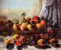 Still Life Fruit Realist Realismus maler Gustave Courbet