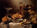 Banquet Still Life With A Crab On A Silver Platter Pieter Claesz