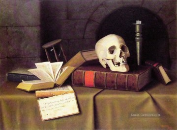 Stillleben Werke - Memento Mori William Harnett Stillleben