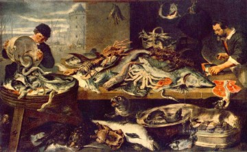 Fish Shop Stillleben Frans Snyders Ölgemälde