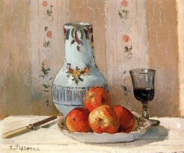 Still Life With Apples And Pitcher postImpressionismus Camille Pissarro