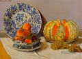 Still Life with Melon Claude Monet