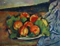 Dish of Peaches Paul Cezanne Stillleben Impressionismus