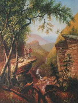 Inventa Werke - Verwandte Spirituosen Asher Brown Durand 32x42cm USD59